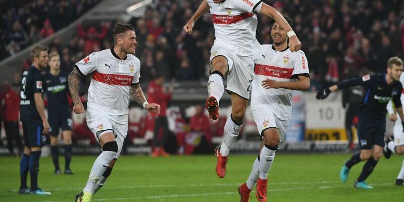 VfB Stuttgart - Hertha BSC - Foto: Marijan Murat