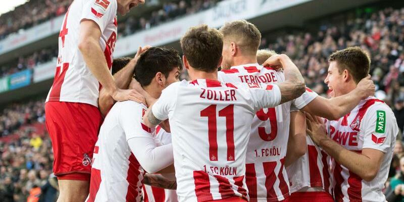 1. FC Köln - Borussia Mönchengladbach - Foto: Marius Becker