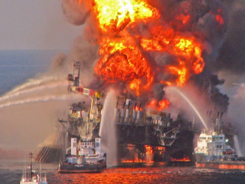 «Deepwater Horizon» - Foto: Us Coast Guard