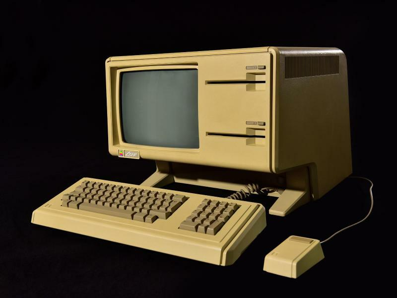 Apple Lisa - Foto: Braun Media/Heinz Nixdorf MuseumsForums HNF