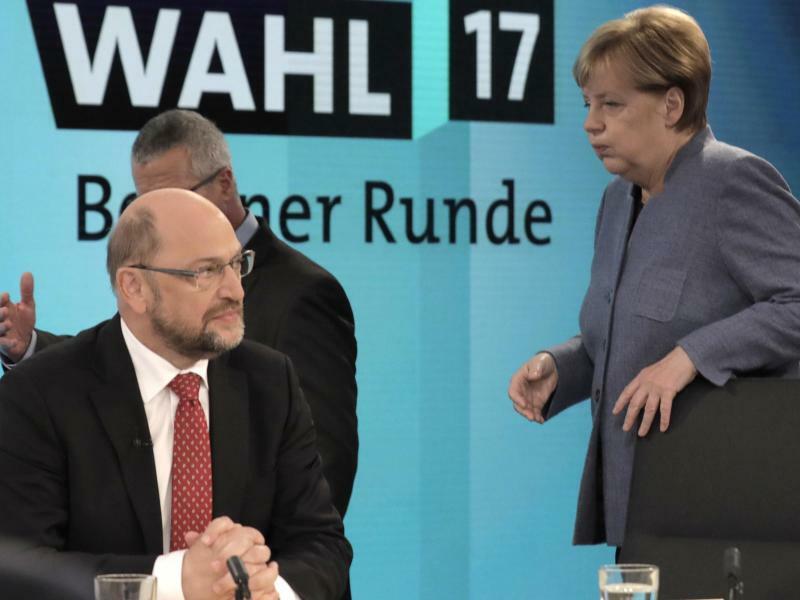Bundestags-Wahlabend - Foto: Gero Breloer/POOL AP