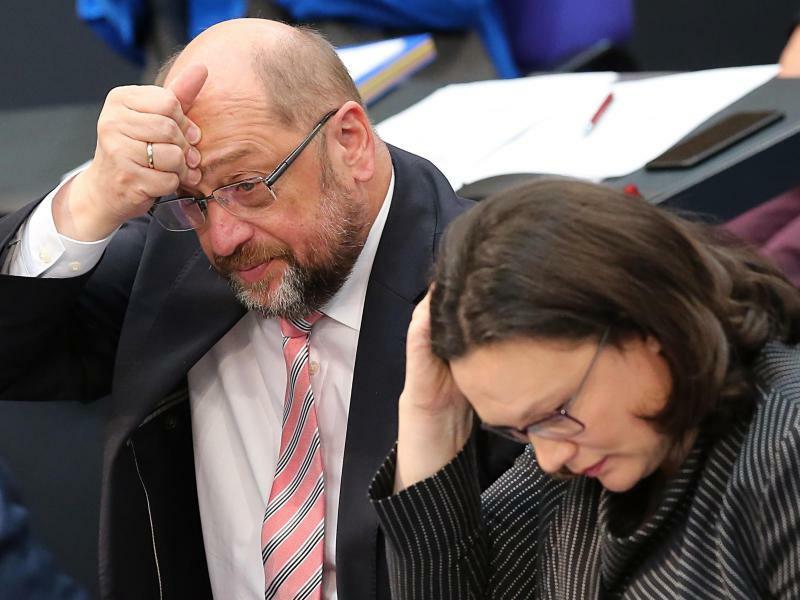 Schulz und Nahles - Foto: Wolfgang Kumm