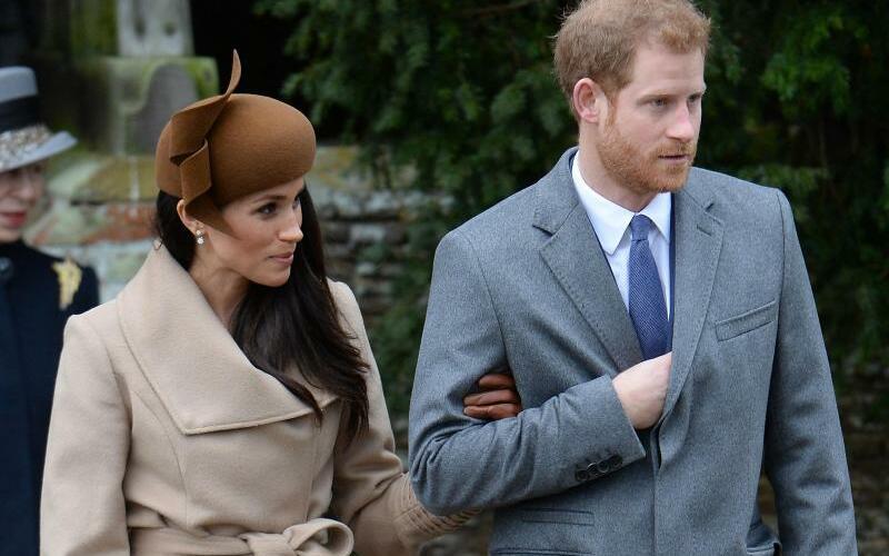 Prinz Harry und Meghan Markle - Foto: Joe Giddens/Archiv