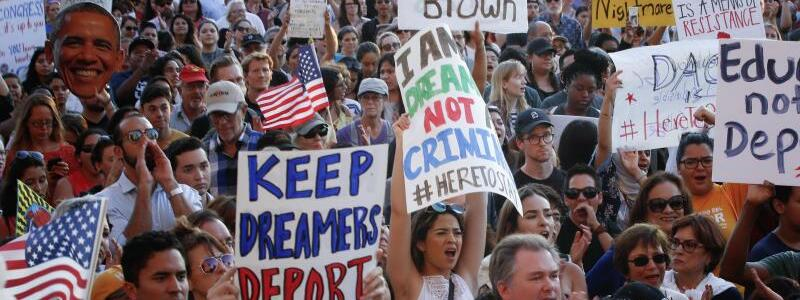 «Dreamer»-Demo - Foto: Nelvin C. Cepeda/San Diego Union-Tribune