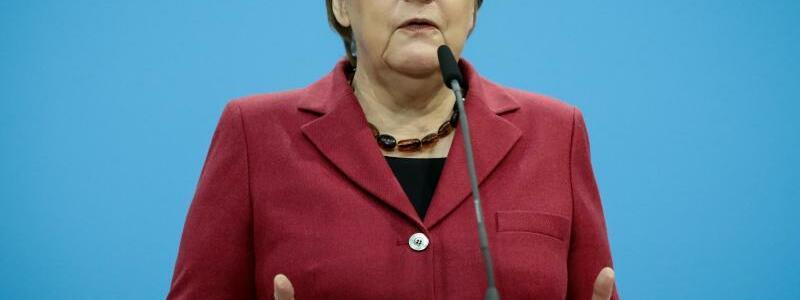 Angela Merkel - Foto: Kay Nietfeld