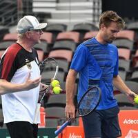 Becker und Gojowczyk - Foto: Dave Hunt