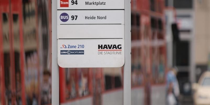 HAVAG-Straßenbahnhaltestelle - Foto: über dts Nachrichtenagentur