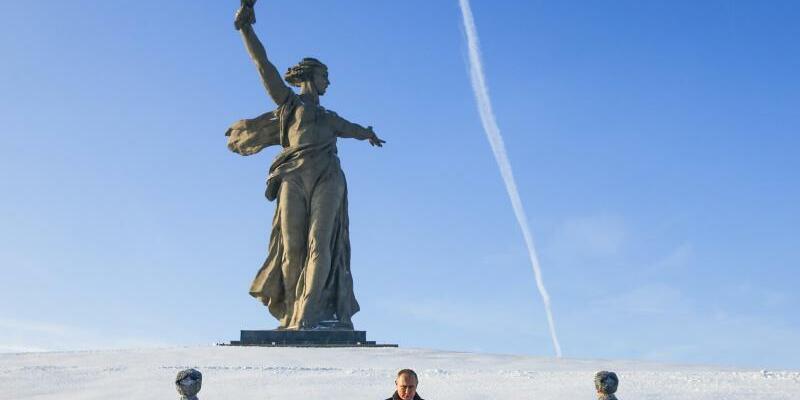 Gedenken in Wolgograd - Foto: Maxim Shemetov/Pool Reuters