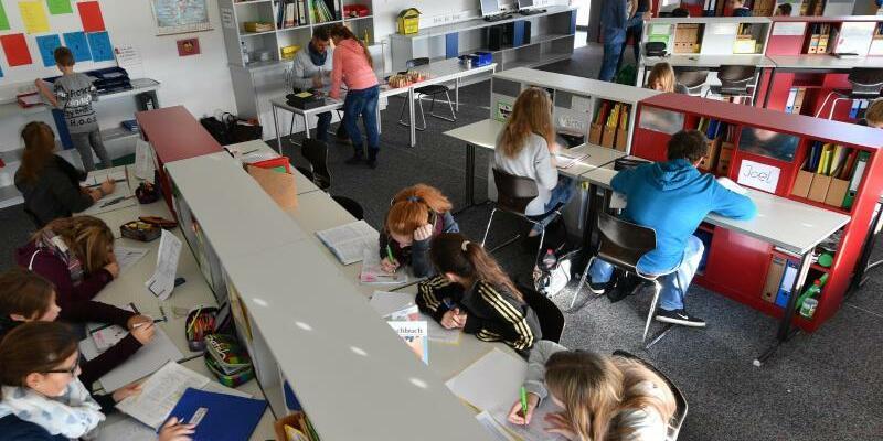In der Schule - Foto: Felix Kästle