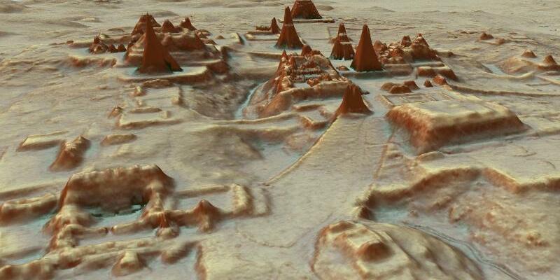 Darstellung einer Maya-Stadt - Foto: PACUNAM