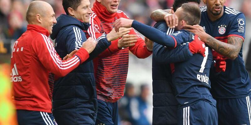 Bayern-Jubel - Foto: Torsten Silz