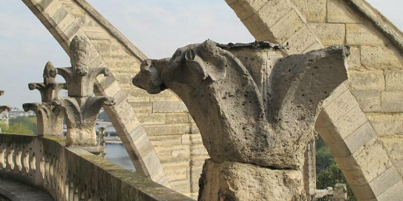 Notre-Dame bröckelt - Foto: Sebastian Kunigkeit