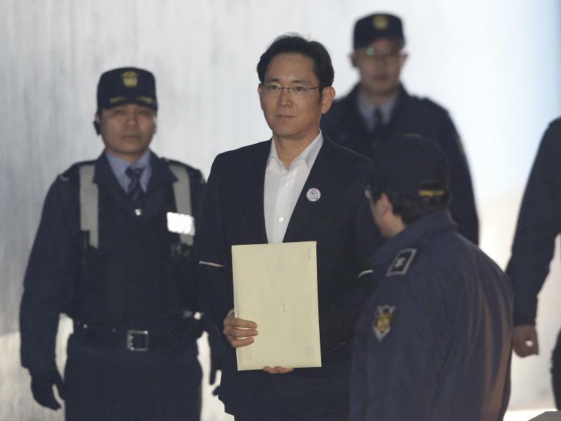 Lee Jae Yong - Foto: Ahn Young-Joon/AP POOL