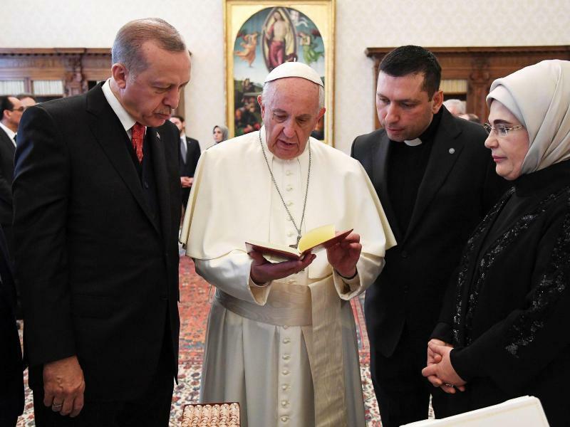 Papst empfängt Erdogan - Foto: Alessandro Di Meo