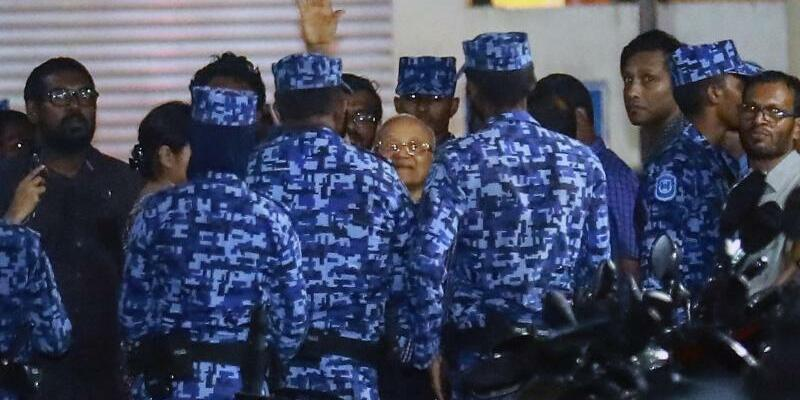 Krise auf Malediven - Foto: Mohamed Sharuhaan