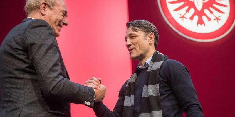 Eintracht-Duo - Foto: Frank Rumpenhorst