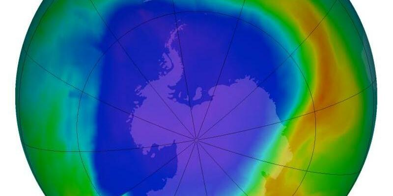 Ozonloch über der Antarktis - Foto: NASA's Goddard Space Flight Center