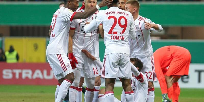 Bayern-Jubel - Foto: Friso Gentsch