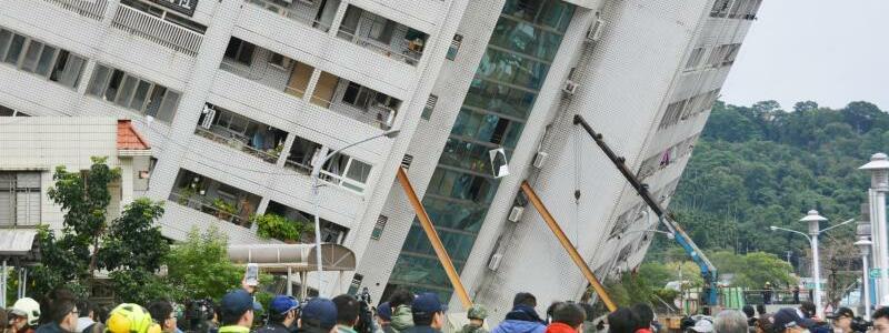 Erdbeben in Taiwan - Foto: kyodo
