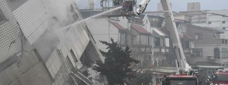Erdbeben in Taiwan - Foto: Central News Agency