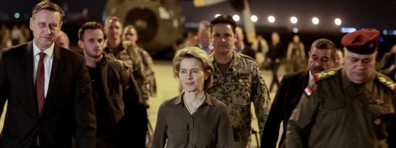 Ankunft in Bagdad - Foto: Kay Nietfeld