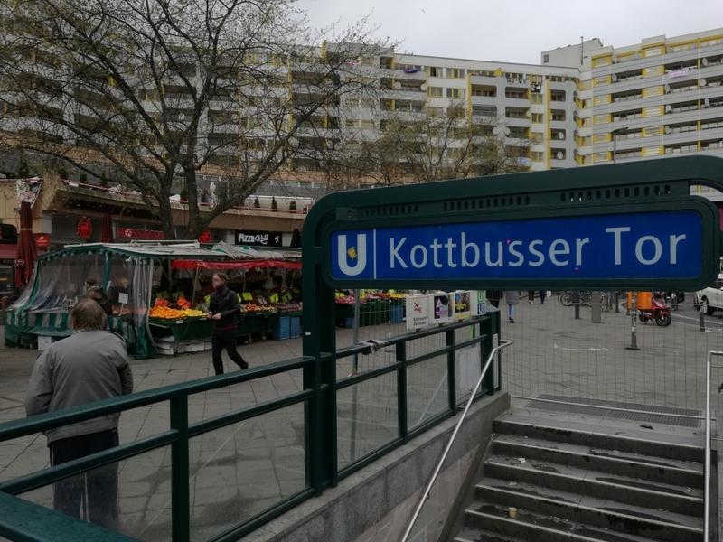 Kottbusser Tor in Berlin-Kreuzberg - Foto: über dts Nachrichtenagentur