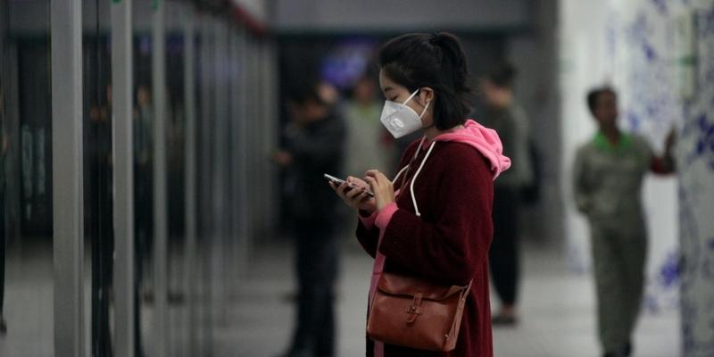 Frau in der Metro von Peking - Foto: über dts Nachrichtenagentur