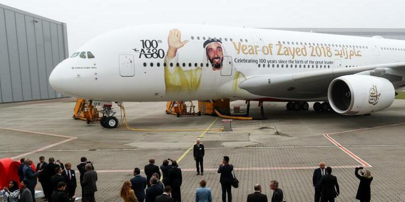 Airbus A380 der Emirates Airline - Foto: Christian Charisius