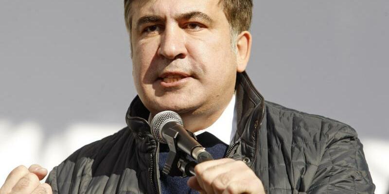Michail Saakaschwili - Foto: Serg Glovny/ZUMA Wire