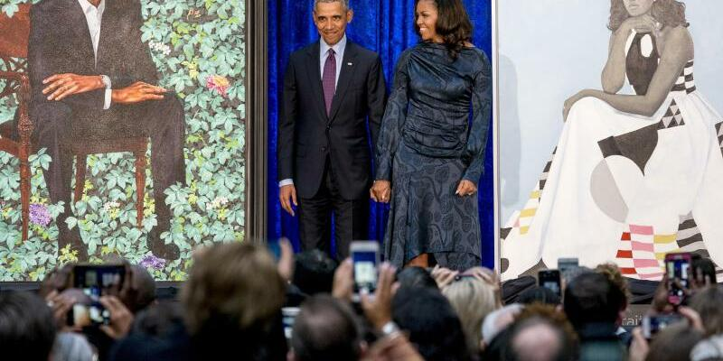 Michelle & Barack Obama - Foto: Andrew Harnik/AP