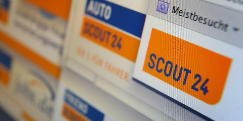 Scout24 - Foto: Scout24 betreibt unter anderem die Online-Marktplätze Immobilienscout24 und Autoscout24. Foto:Karl-Josef Hildenbrand/Archiv