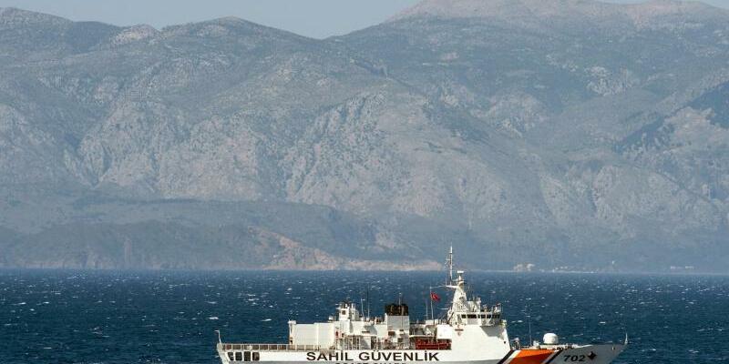 Türkische Küstenwache - Foto: John Macdougall, AFP/Archiv