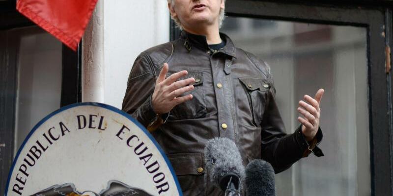 Julian Assange - Foto: Constantin Ecker/Archiv