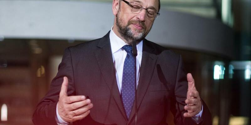 Schulz in Berlin - Foto: Bernd von Jutrczenka
