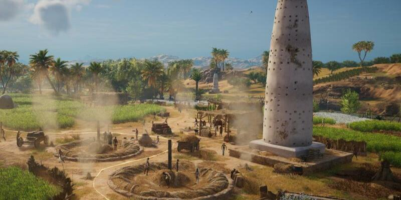 «Assassin's Creed Origins» - Foto: Szene aus dem Computerspiel «Assassin's Creed Origins». Foto: Ubisoft