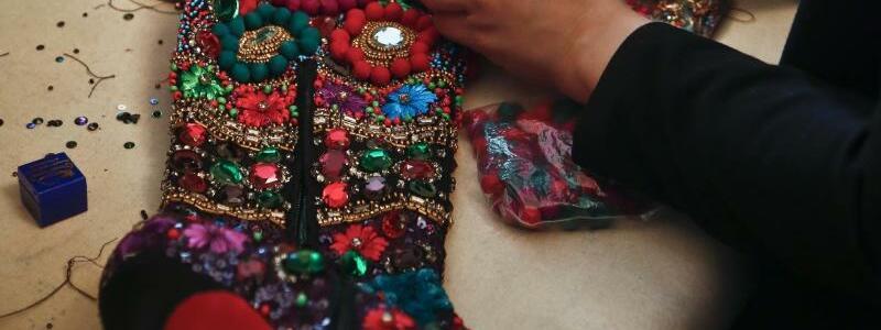 New York Fashion Week - Naeem Khan - Foto: Bebeto Matthews/AP
