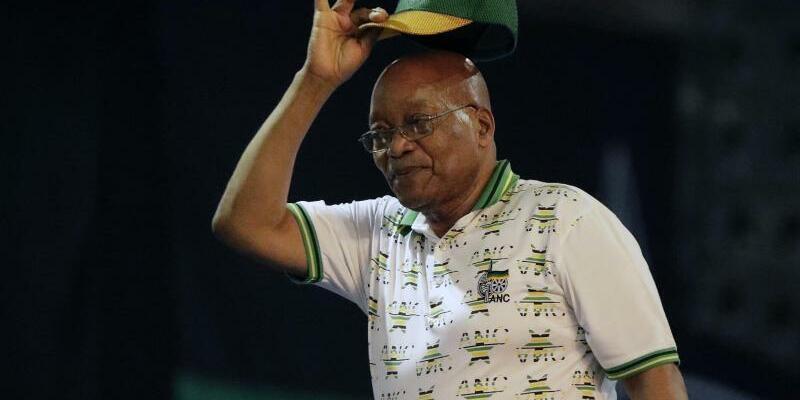 Jacob Zuma - Foto: Themba Hadebe