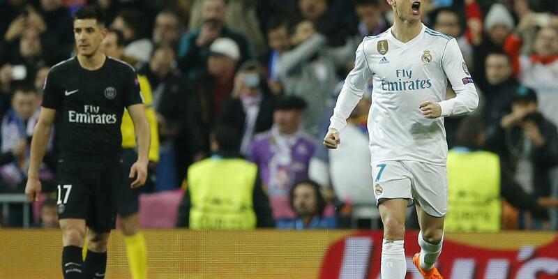 Schlüsselspieler - Foto: Cristiano Ronaldo (r) hat mit seinen zwei Toren Real Madrid zum Sieg gegen Paris Saint-Germain geführt. Foto:Paul White
