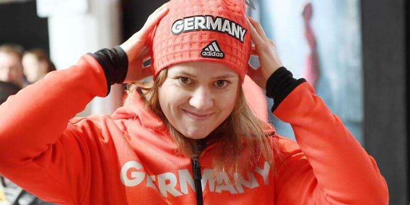 Medaillenkandidatin - Foto: Skirennläuferin Viktoria Rebensburg ist im Riesenslalom eine feste Größe. Foto:Tobias Hase