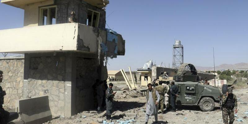 Taliban-Angriff in Afghanistan - Foto: Den Taliban lasten die UN 42 Prozent aller Opfer an. Foto:Ihsanullah Mahjoor/AP