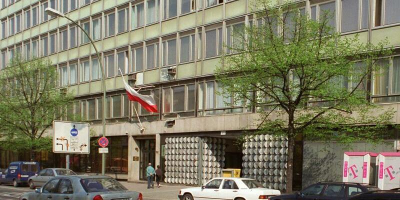 Polnische Botschaft in Berlin - Foto: Polnische Botschaft in Berlin. Foto:Hubert Link