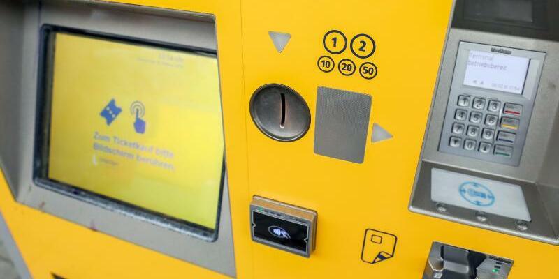 Fahrkartenautomat - Foto: Jan Woitas