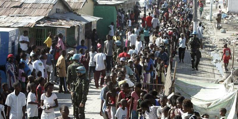 Nach Erdbeben in Haiti - Foto: Orlando Barria/epa/Archiv