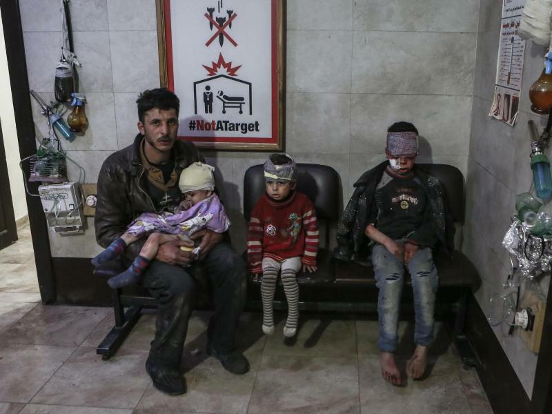 Angriffe bei Damaskus - Foto: Samer Bouidani