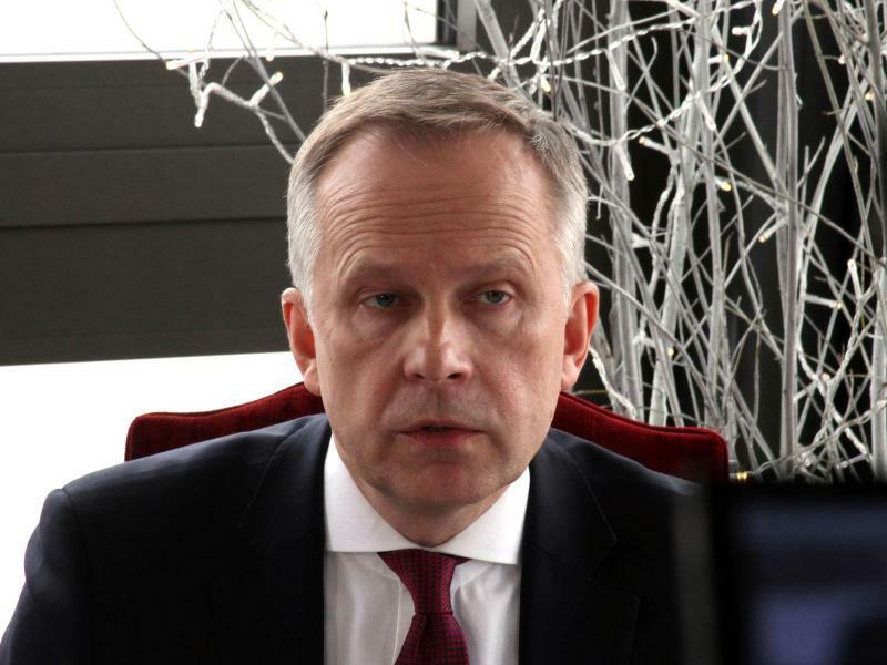 Lettlands Zentralbankchef Rimsevics - Foto: Alexander Welscher