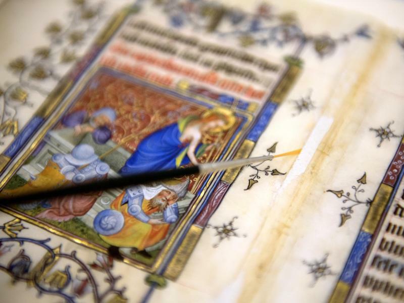 Mittelalterliches Gebetbuch - Foto: Ralf Hirschberger