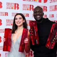 Brit Awards - Dua Lipa + Stormzy - Foto: Ian West/PA Wire