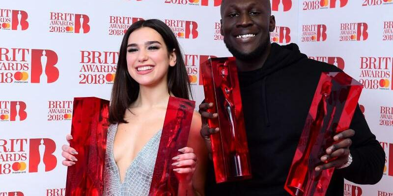 Brit Awards - Dua Lipa + Stormzy - Foto: Ian West/PA Wire
