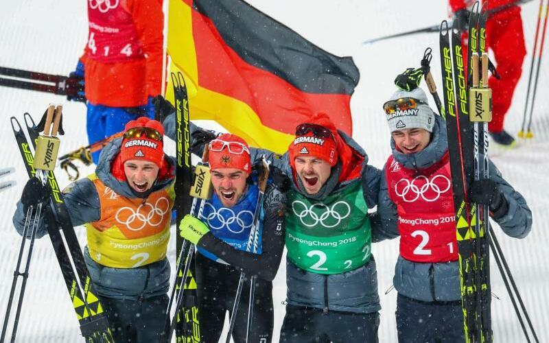 Gold-Team - Foto: Daniel Karmann