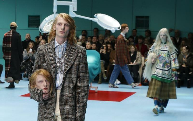 Mailänder Modewoche - Gucci - Foto: Antonio Calanni